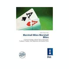 Marshall Miles Marshall Miles - Carte in engleza
