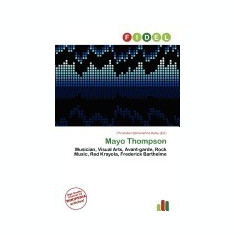 Mayo Thompson - Carte in engleza