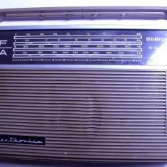 Radio vechi Mamaia din anii 60 de colectie rar relativ functional electronica - Aparat radio