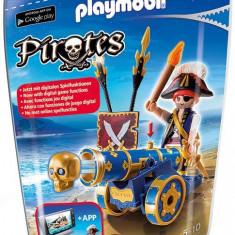 Pirat Cu Tun Albastru Playmobil