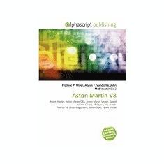Aston Martin V8 - Carte in engleza