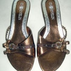 Papuci dama eleganti Evelin marimea 39, Culoare: Din imagine