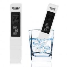 Aparat masura TDS EC METRU + temperatura DIGITAL meter TESTER PROFESIONAL NOU - Termometru