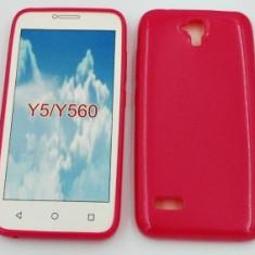 Husa Jelly Case Huawei Y5 PINK - Husa Telefon Huawei, Plastic