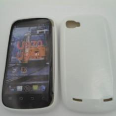 Husa plastic siliconat ZTE Grand X IN Alb - Husa Telefon