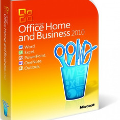 Microsoft Office Home and Business 2010 - in limba Romana sau Engleza - Solutii business