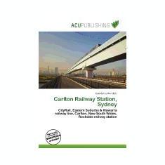 Carlton Railway Station, Sydney - Carte in engleza
