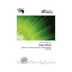 Cape Wind - Carte in engleza
