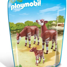 Familie De Okapi - Figurina Animale Playmobil