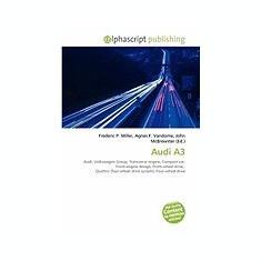 Audi A3 - Carte in engleza