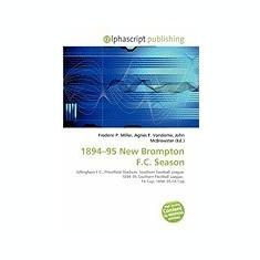 1894-95 New Brompton F.C. Season - Carte in engleza