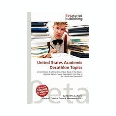 United States Academic Decathlon Topics - Carte in engleza