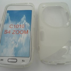 Toc silicon S-Case Samsung Galaxy S4 zoom Transparent - Husa Telefon