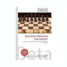 Paul Keres Memorial Tournament - Carte in engleza