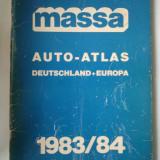 ATLAS AUTO MASSA GERMANIA SI EUROPA 1983 - 1984 - 95 PAGINI