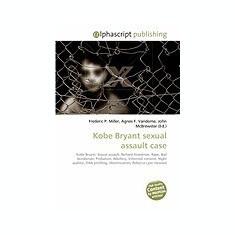 Kobe Bryant Sexual Assault Case - Carte in engleza
