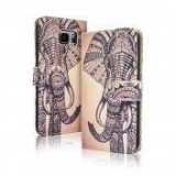 Toc FlipCover Fancy Apple iPhone 5 / 5s ELEPHANT, iPhone 5/5S/SE, Plastic, Husa