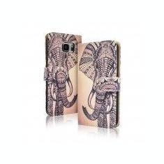 Toc FlipCover Fancy Apple iPhone 5 / 5s ELEPHANT - Husa Telefon Apple, iPhone 5/5S/SE