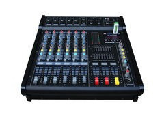 MIXER AUDIO PROFESIONAL AMPLIFICAT/PUTERE 600 WATT,6 CANALE,MP3 PLAYER,EFECTE. foto
