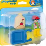 1.2.3. Muncitor Cu Roaba Playmobil