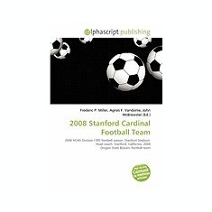 2008 Stanford Cardinal Football Team - Carte in engleza