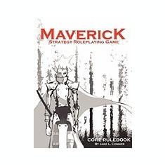 Maverick, Strategy RPG: Core Rulebook - Carte in engleza