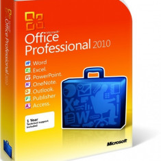 Microsoft Office Professional 2010 - in limba Romana sau Engleza - Solutii business