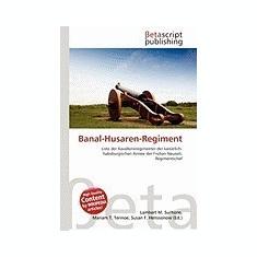 Banal-Husaren-Regiment - Carte in engleza