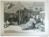 Grafica 1877 24 martie The graphic de la Constantinopole la Varna harem