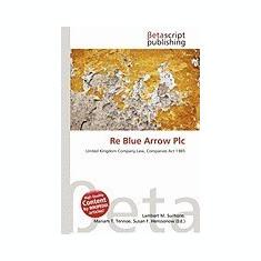 Re Blue Arrow Plc - Carte in engleza