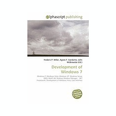Development of Windows 7 - Carte in engleza