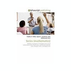 Series (Mathematics) - Carte in engleza