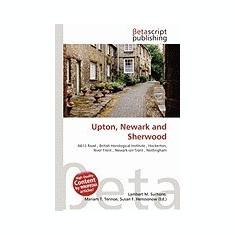 Upton, Newark and Sherwood - Carte in engleza