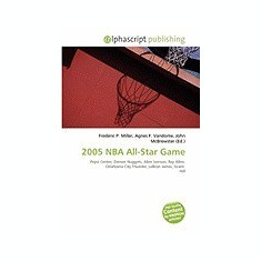 2005 NBA All-Star Game - Carte in engleza