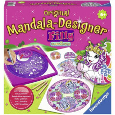 Set Creatie - Mini Mandala - Ponei 2 In 1 - Jocuri arta si creatie Ravensburger
