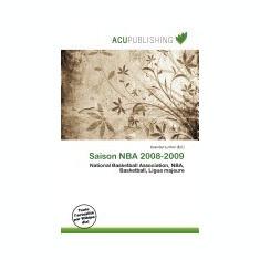 Saison NBA 2008-2009 - Carte in engleza