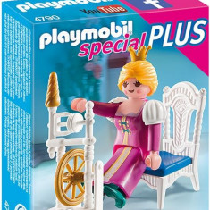 Regina Cu Masina De Tesut Playmobil