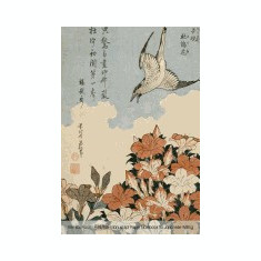 Genkou Youshi Manuscript Paper - Notebook for Japanese Writing: 6x9 Genko Yoshi Paper 160 Pages, Cover Art by Katsushika Hokusai, for Composition and