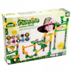Set De Joaca Labirint De Bile 41 Piese Si 10 Bile Jungle Adventure - Jocuri arta si creatie Lena