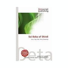 Sai Baba of Shirdi - Carte in engleza