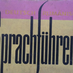 SPRACHFUHRER - Ghid de conversatie german-roman