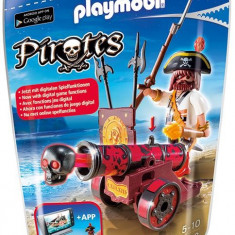 Pirat Cu Tun Rosu Playmobil