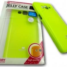 Husa Jelly Case Mercury Apple iPhone 5 / 5S LIME - Husa Telefon Apple, iPhone 5/5S/SE
