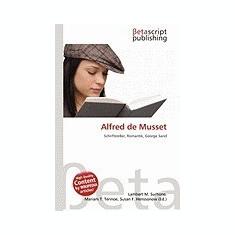 Alfred de Musset - Carte in engleza