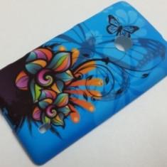 Husa silicon Jelly Case Blue Design Sony Xperia E