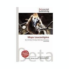 Mops Leucostigma - Carte in engleza