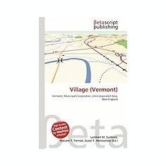 Village (Vermont) - Carte in engleza