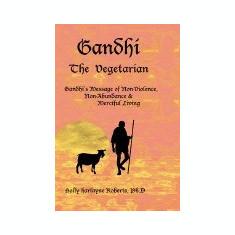 Gandhi the Vegetarian - Carte in engleza