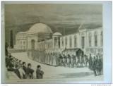 Grafica  The Graphic Constantinopole inmormantare sultan mausoleu Mahomed