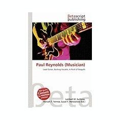 Paul Reynolds (Musician) - Carte in engleza